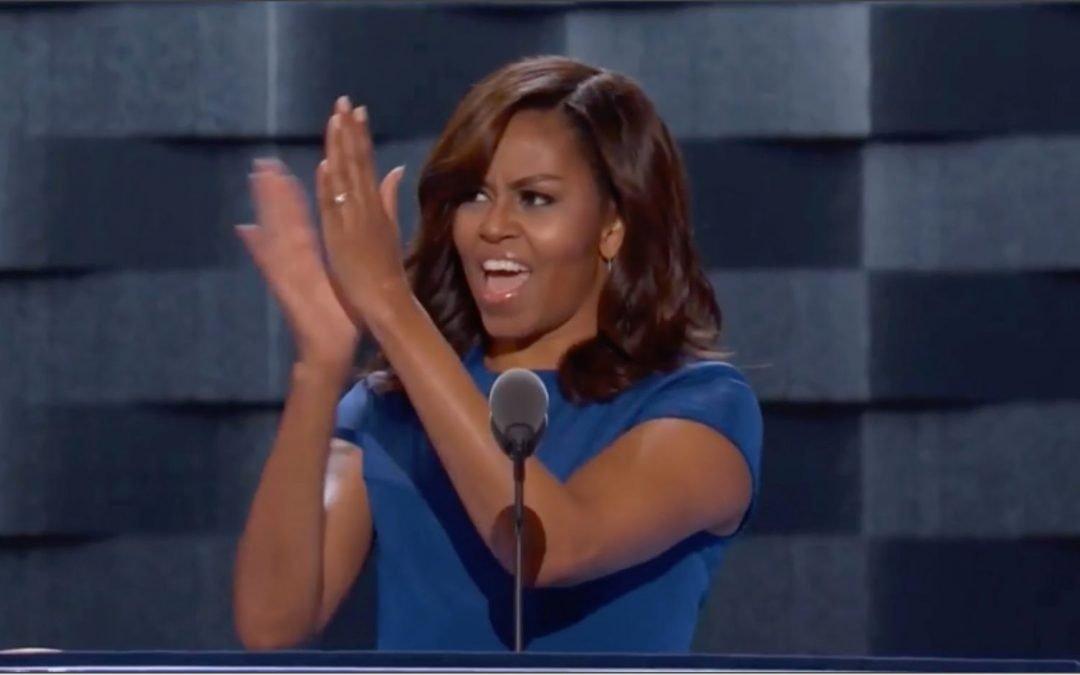 Αυτό που με άφησε άναυδη στην ομιλία της Μισέλ Ομπάμα